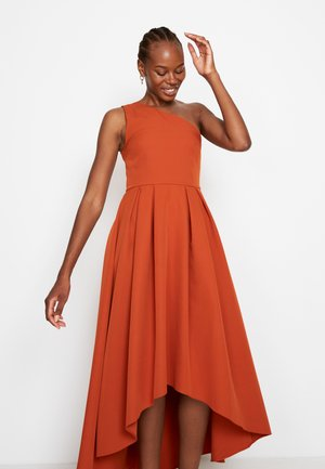 FRILL FIT &AMP - Cocktail dress / Party dress - ochre