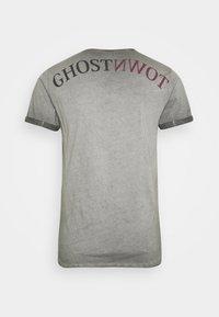 Key Largo - HILL ROUND - T-shirt con stampa - anthracite - 6