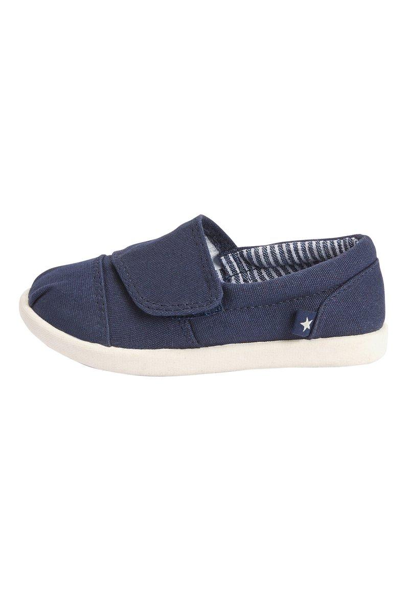Next - GREY ESPADRILLES (YOUNGER) - Klittenbandschoenen - blue