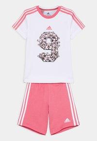 adidas Performance - SET - Sports shorts - white - 0