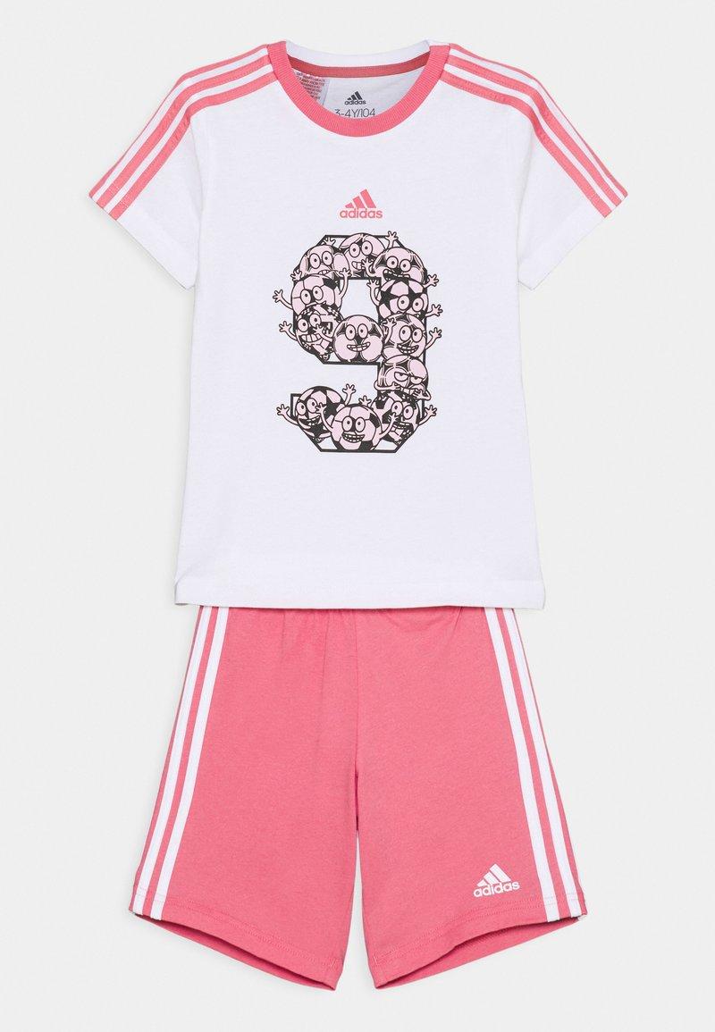 adidas Performance - SET - Sports shorts - white