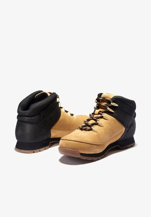 EURO SPRINT - Lace-up ankle boots - wheat nubuck w black
