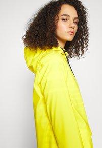PIECES Tall - PCRARNA RAIN JACKET - Parka - empire yellow - 3