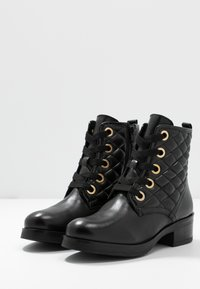Anna Field - LEATHER - Winter boots - black - 4