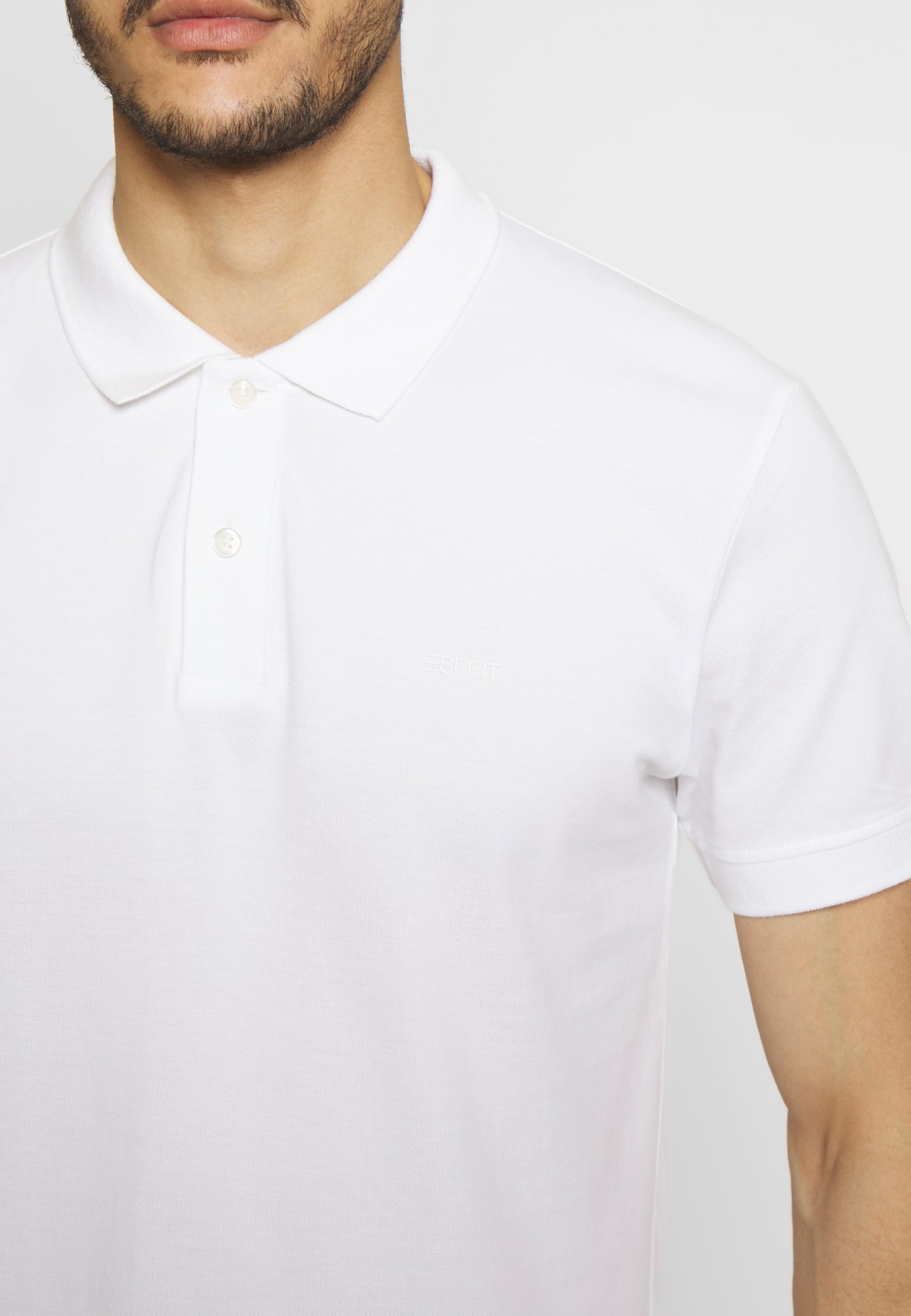 Esprit OCS  - Polo shirt - white M7QxT