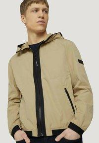 TOM TAILOR - Light jacket - smoked beige - 4