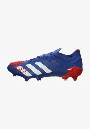 PREDATOR  - Scarpe da calcetto con tacchetti - royal blue/footwear white/action red