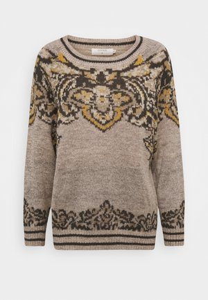 SELMI - Pullover - feather gray melange