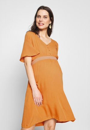 MLJACINTA WOVEN DRESS - Vestido informal - nugget