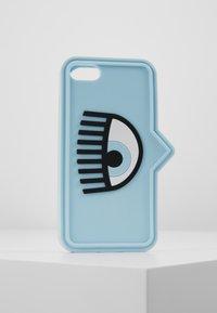 CHIARA FERRAGNI - EYELIKE COVER IPHONE - Mobiltasker - blue - 0