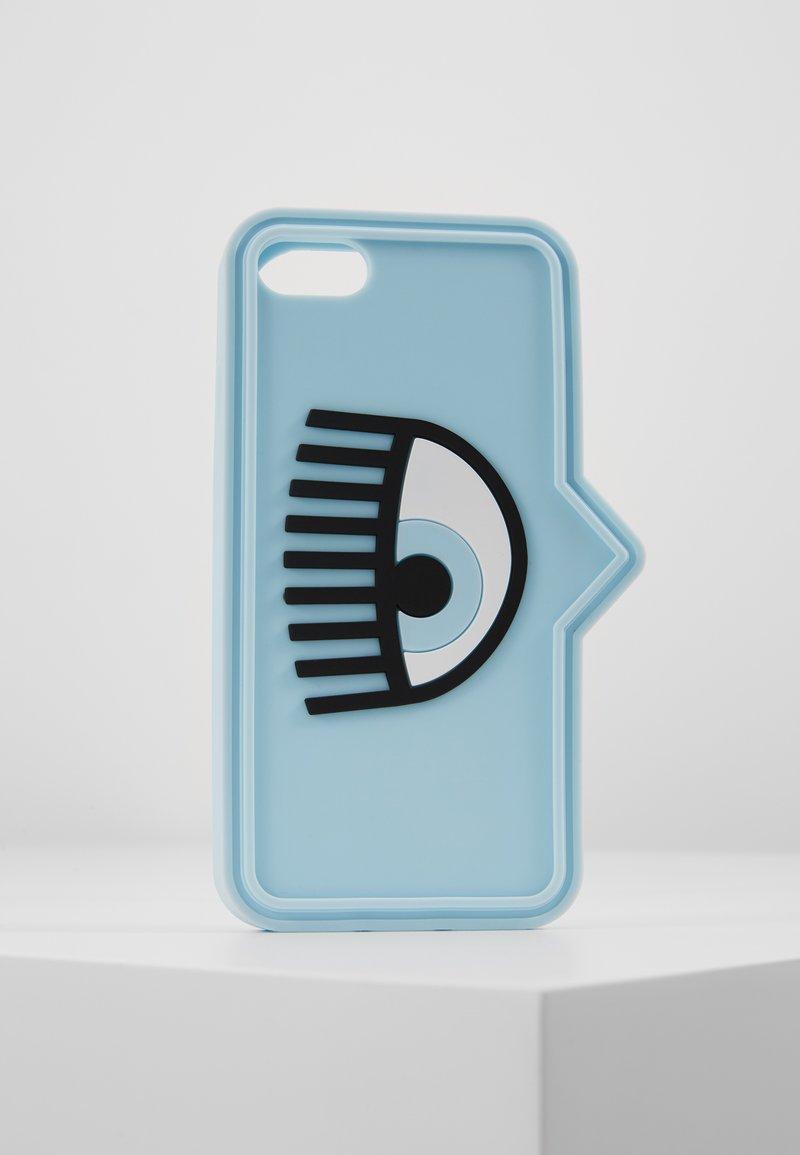 CHIARA FERRAGNI - EYELIKE COVER IPHONE - Mobiltasker - blue