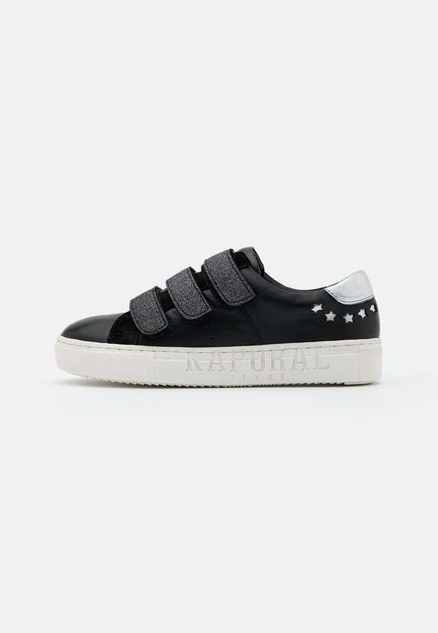 LUNA - Sneakers - noir/etain