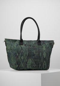 Codello - SNAKE PRINT SHOPPER - Tote bag - bottle green - 2