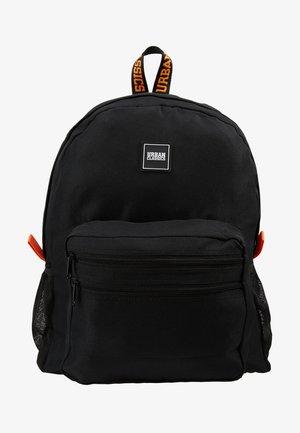 BASIC BACKPACK - Rucksack - black/orange