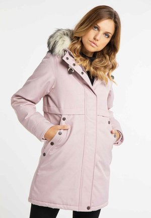 Winter coat - rosa melange