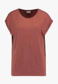 Vero Moda - VMAVA PLAIN - T-shirt basic - mahogany - 3
