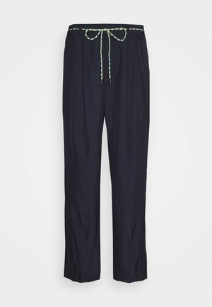 SOFT TROUSERS - Trousers - navy