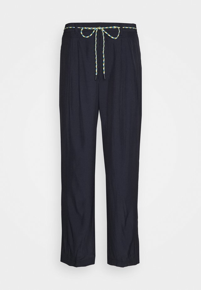 SOFT TROUSERS - Bukse - navy