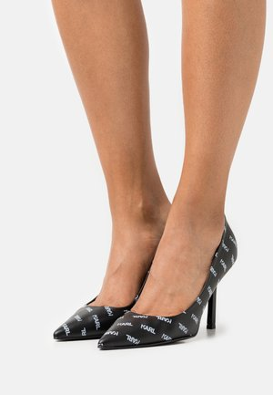 SARABANDE COURT SHOE LOGO - Classic heels - black