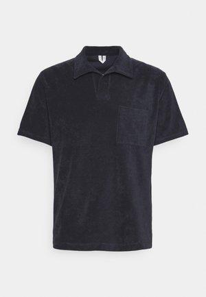 Basic Towelling Polo Shirt - Polo - dark blue