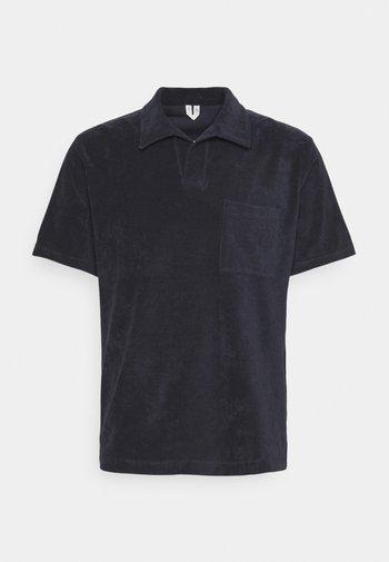 Basic Towelling Polo Shirt - Polo shirt - dark blue