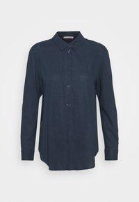 Anna Field - Linen Shirt - Button-down blouse - blue - 0