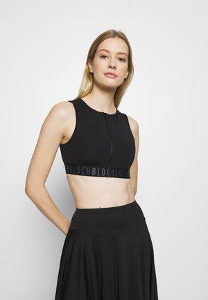 REMY - Medium support sports bra - black