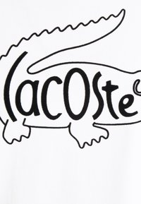 Lacoste - Print T-shirt - white - 2