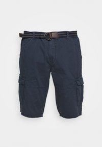 Jack´s Sportswear - CARGO KNICKERS WITH BELT - Shorts - dunkelblau - 4
