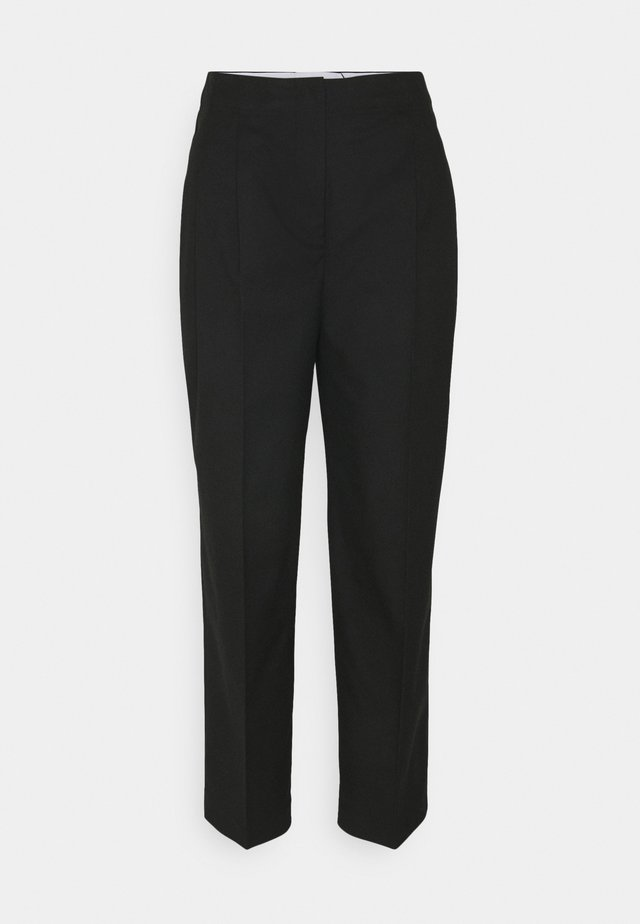 LEONIAH - Spodnie materiałowe - black