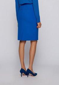 BOSS - VACRIBA - Pencil skirt - light blue - 2