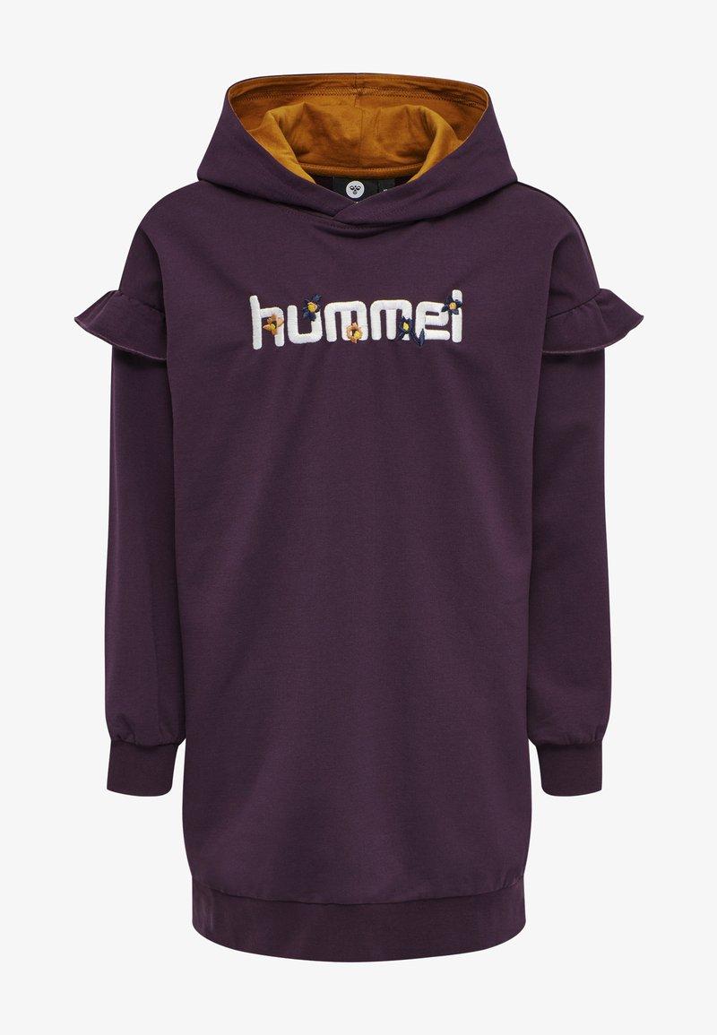 Hummel - AIKO - Jersey dress - blackberry wine