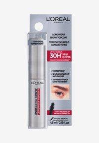 L'Oréal Paris - UNBELIEVA'BROW LONGWEAR TOPCOAT - Eyebrow gel - transparent - 2