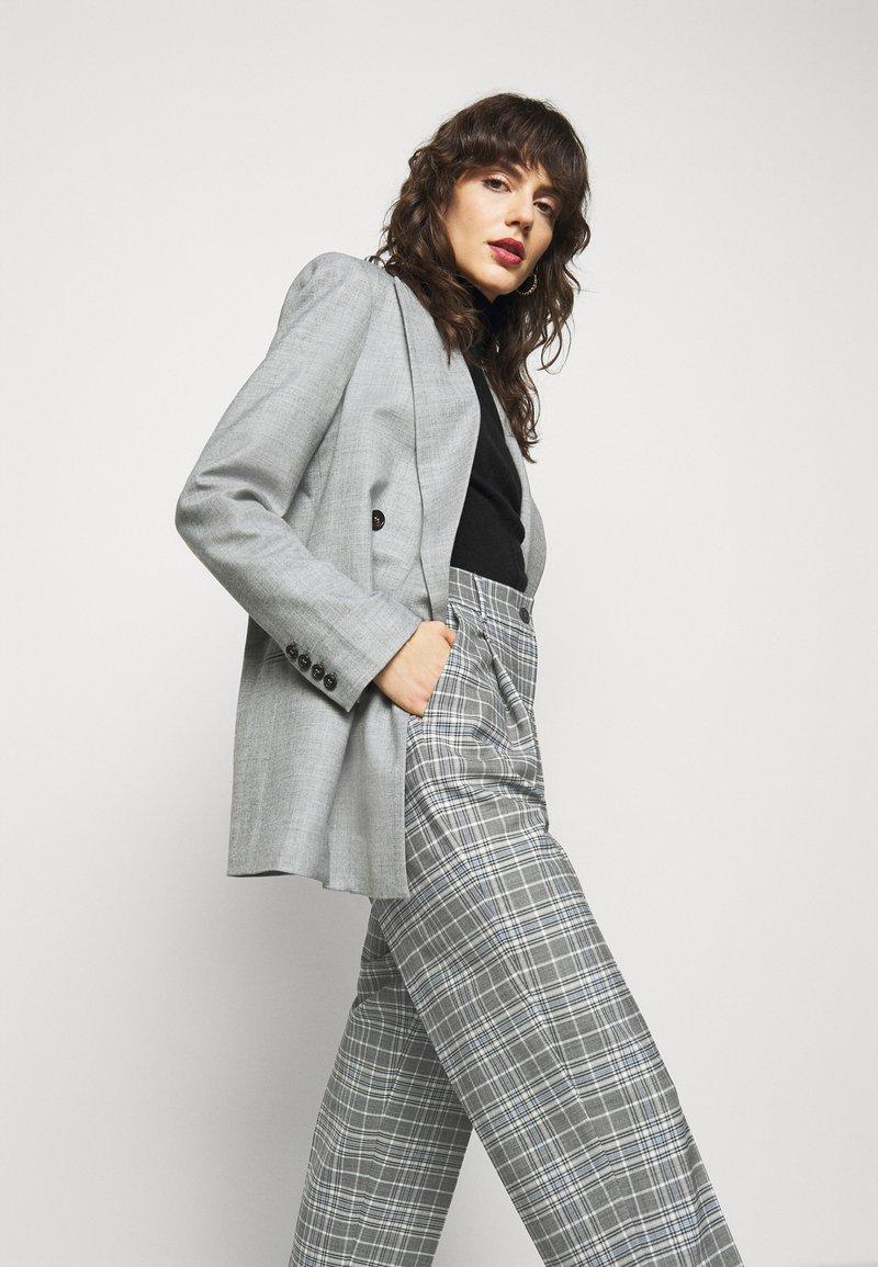Marella - EGOISTA - Pantalon classique - grigio