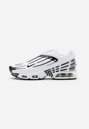 AIR MAX PLUS III UNISEX - Sneaker low - white/black/chile red