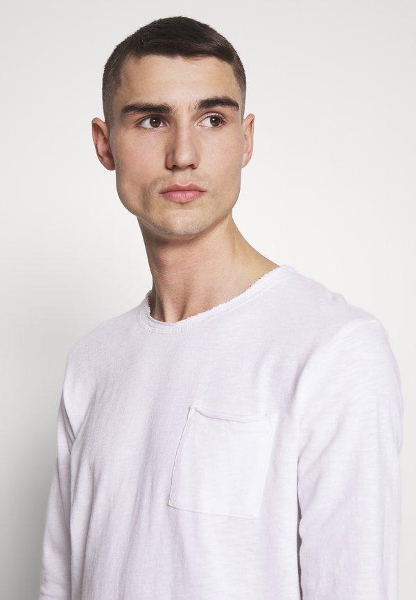 Tigha CHIBS - Bluzka z długim rękawem - white/biały Odzież Męska BPWO
