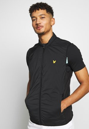 GOLF GILET - Väst - true black