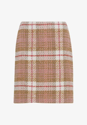 A-line skirt - nude