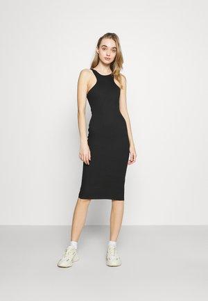 RACER MIDI DRESS - Jumper dress - black