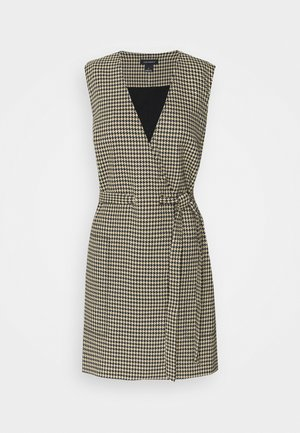 WRAP DRESS - Shift dress - brown