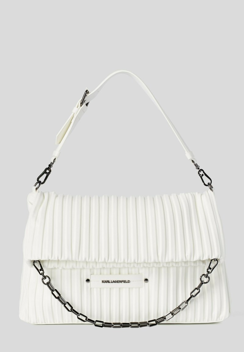 KARL LAGERFELD - KUSHION FOLDED TOTE - Tote bag - white