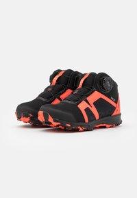 adidas Performance - TERREX BOA MID R.RDY UNISEX - Trekingové boty - core black/footwear white/solar red - 1