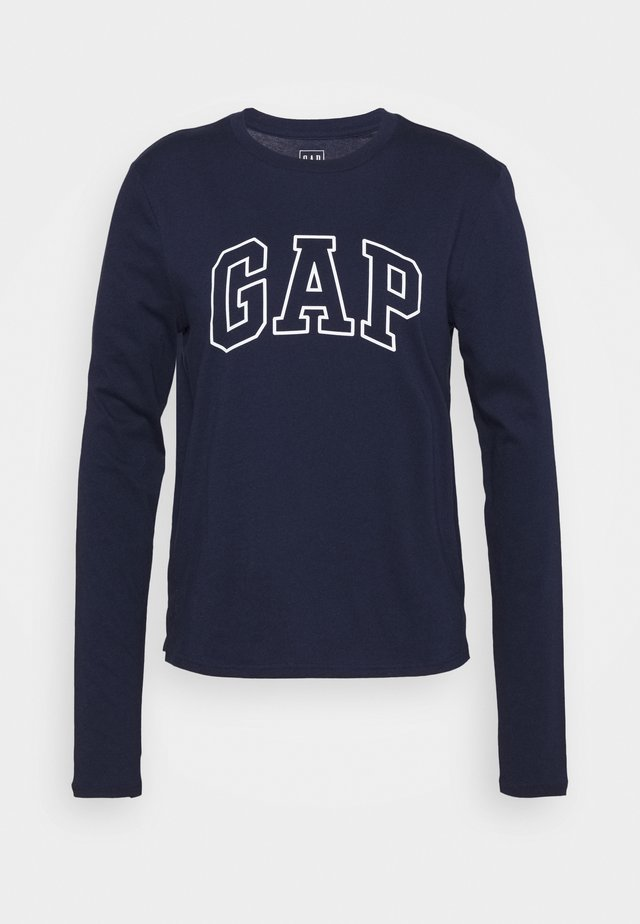 EASY TEE - T-shirt à manches longues - navy uniform