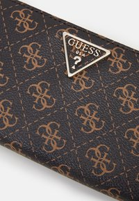 Guess - AMBROSE SLG LARGE ZIP AROUND - Portefeuille - blue lion - 4