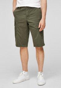 s.Oliver - Shorts - olive - 0