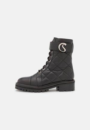FAME - Platform ankle boots - black