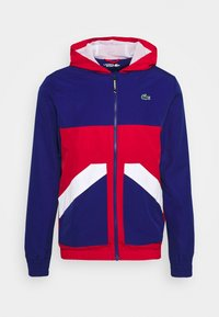 Lacoste Sport - TENNIS JACKET - Training jacket - cosmic/red/white - 4