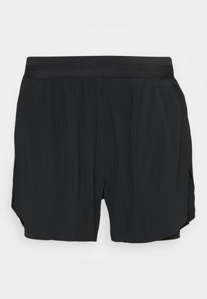RUN SHORT 2 IN 1 - Pantalón corto de deporte - black