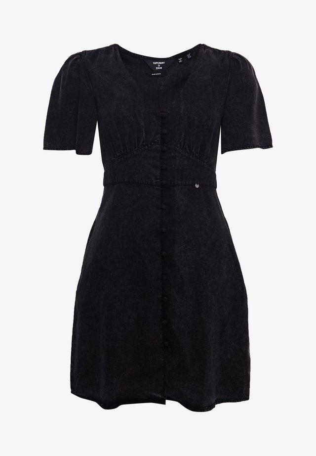 SADIE VINTAGE  - Korte jurk - washed black