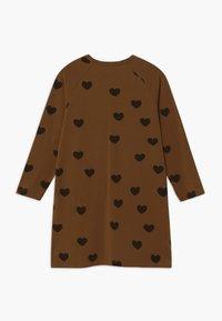 Mini Rodini - HEARTS - Jersey dress - brown - 1
